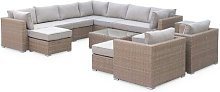 Wynnbrook 14 Seater Rattan Sofa Set Sol 72 Outdoor