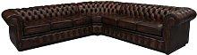 Wynnewood Chesterfield Leather Corner Sofa
