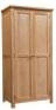 Wynyard Oak Double Wardrobe