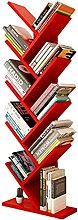 WYRKYP Bookcases Tree Bookshelf Modern Floor