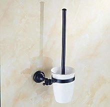 WYRKYP Toilet Brushes,Black Bronze Toilet Brush