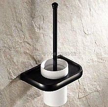 WYRKYP Toilet Brushes,Black Oil Rubbed Bronze Wall