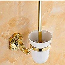 WYRKYP Toilet Brushes,Brass Bathroom Accessories