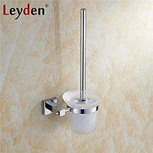 WYRKYP Toilet Brushes,Brass Toilet Brush Holder