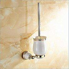 WYRKYP Toilet Brushes,Ceramic Toilet Brush Holder