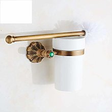WYRKYP Toilet Brushes,Good Price Antique Brass