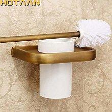WYRKYP Toilet Brushes,Toilet Brush Holder Solid