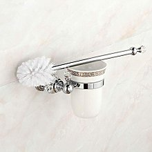 WYRKYP Toilet Brushes,Wall Mounted Brass Toilet
