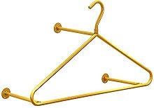 WYRKYP Wall-Mounted Clothes Rail, Detachable