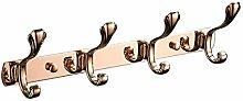 WYRKYP Wall-Mounted Coat Rack Stainless Steel Coat