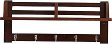 WYRKYP Wall-Mounted Coat Rack Wall Mounted Coat