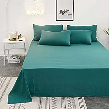 WYSTLDR Solid color washed cotton sheets,