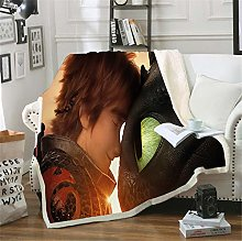 WYWZDQ Baby Blanket, How to Train Your Dragon,