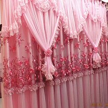 Wyxy Pink Blackout Curtain For Girls Kid,Floral