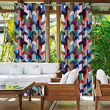 WYYUE Outdoor Curtain Waterproof Curtain with