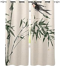 WYYUE Outdoor Curtain with Eyelets, Waterproof