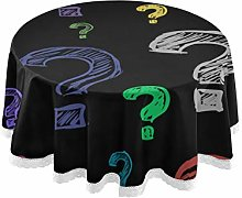 WYYWCY Round Coffee Table Cover Creative Fashion