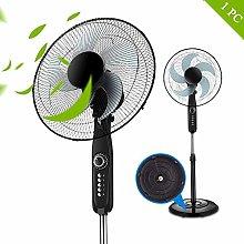 WZF CurDecor Rotating pedestal fan 18-inch timer,