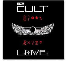 wzgsffs Cult Love Art Wall For Soul Singer And