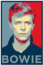 wzgsffs David Bowie Classic Watercolor Portrait