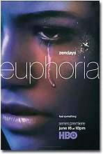 wzgsffs Euphoria 2019 Tv Series Zendaya Poster And