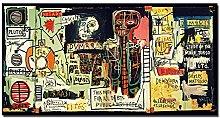 wzgsffs Jean Michel Basquiat Custom Gift Painting