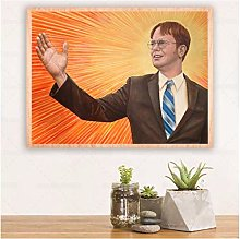 wzgsffs King Dwight Schrute Poster And Prints Wall