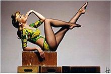 wzgsffs Kylie Minogue Rock Disco Dance Sexy Babe