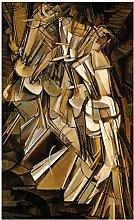 wzgsffs Marcel Duchamp Nude Descending a Staircase