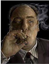 wzgsffs The Sopranos Godfather Series Canvas