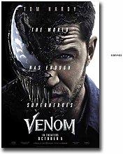 wzgsffs Tom Hardy Venom 2 Movie Art Posters And