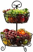 WZHZJ Black Fruit Bowl - Personalized Fruit