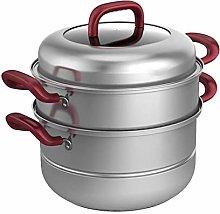 WZHZJ Food Steamer,Stainless Steel steam Cooker