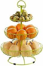 WZHZJ Fruit Dish,Fruit Basket Creative European