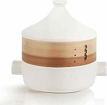 WZHZJ Japanese-Style Brief White Black Ceramic