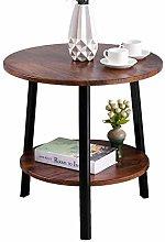 WZHZJ Simple Small Coffee Table Double Table Sofa