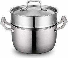 WZHZJ Stainless Steel Steamer,Stock Pot with