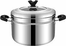 WZHZJ Stainless Steel Steamer, Tier Food Steamer