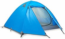 WZLJW Camping Tent Compact Outdoor Rain-proof 2