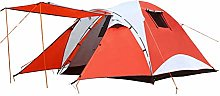WZLJW Camping Tent Outdoor 3-4 People Family