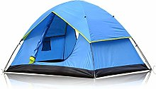 WZLJW Camping Tent,Outdoor Beach Tent Double Layer