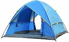 WZLJW Camping Tent,Outdoor Double Layer 3-4 People