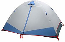 WZLJW Dome Tent,2 People Outdoor Double Layer