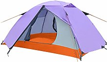WZLJW Double Layer Tents,Outdoor 2 People Dome