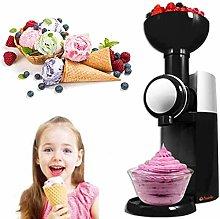 WZLJW Ice Cream Maker, with Built in Freezer,