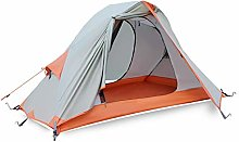WZLJW Outdoor Tents Single Camping Tent Double