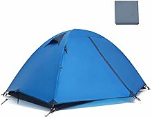 WZLJW Tents Outdoor 2 People Silicone Camping Tent