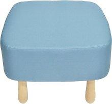 Wzór Footstool Happy Barok Upholstery: Blue