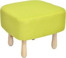 Wzór Footstool Happy Barok Upholstery: Lime