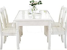 WZRIOP 0.25MM PVC Table Cloth Wipeable Plastic